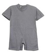 Benefit Wear Back Zipper One-Piece Kids Onesies-Like Underwear (L, Grey ... - $27.71