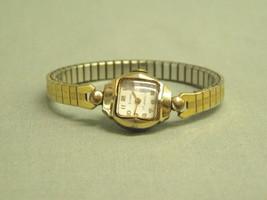 Vintage Strand Ladies Wrist Watch 17 Jewels Swiss 10K RGP case stretch b... - $14.25