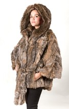 Canadian Lynx Fur Cape Hood Belt image 2