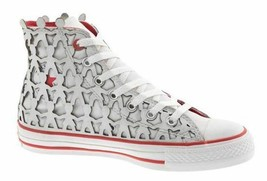 CONVERSE PEOPLE 1HUND+ARTISTS AS CT HI MEN SHOES SNOW/RED A03487 SZ 11.5... - $193.04