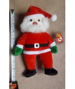 Ty Santa Beanie Baby Retired from 1998 • pre-owned nice condition w orig... - $12.65
