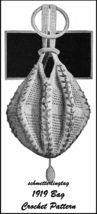 1919 Titanic WWI Purse Crochet Pattern Handbag Bag Reticule Fancy Reenac... - $5.99