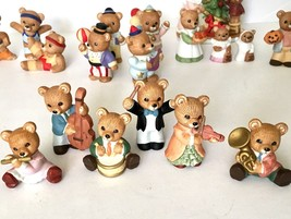 HOMCO Bear Figurines Lot of 26 Home Interiors Halloween Thanksgiving Chr... - $24.74