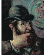 Self Portrait, 1890-95 - 40x50 inch Canvas Wall Art Home Decor - $159.00