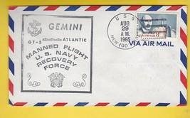 GEMINI GT-5 US NAVY RECOVERY FORCE U.S.S. NEW AUG 29 1965 ATLANTIC - $2.68
