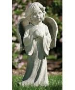 Roman 26IN Graceful Praying Child Angel Wings Outdoor Garden Statue - $157.15