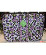 "Vera Bradley 17"" Laptop Sleeve Plum Petals Floral Carrier Case MSRP $45 NWT - $28.00"