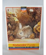 Kodacolor Rose Art 550 Piece Puzzle Brown Bunny Sealed 1994 99999 - $11.87