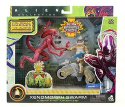 Alien - Xenomorph Swarm Red Planetary Attack Runner With Action Figure Set - $22.99