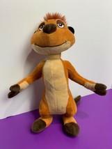 """Authentic Disney Collections Timon Plush 12"""" Lion King Meerkat Soft Plush - $15.83"""