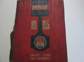 1965 Buick Telaio 43000 44000 Speciale Servizio Riparazione Manuale Dama... - $6.88