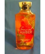 Bath and Body Works New Sensual Amber Womens Shower Gel 10 oz  - $9.95