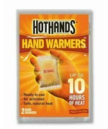 12 PAIRS OF HOTHANDS HAND & TOE WARMERS COMBO, UP TO 10 HOURS OF HEAT PE... - $9.69