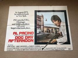 Dog Day Afternoon Original UK Quad Film Movie Poster. Al Pacino - $125.89