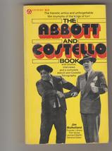 Abbott & Costello Book 1977 1st pb movies & more illustrated - $12.00
