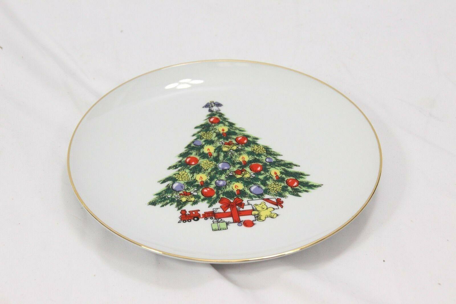 Jamestown Xmas Treasure Dinner and Salad Plates Lot of 8 image 8