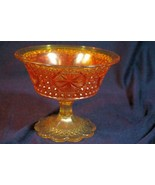 """Imperial Glass Star Medallion Amelia Compote 4"""" - $10.70"""