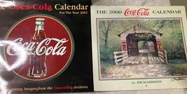 2 Coca Cola Calendars 2000 & 2001--FREE Ship New - $28.80