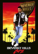 1987 BEVERLY HILLS COP II Eddie Murphy Movie POSTER 27x40 Original 1 She... - $29.99