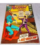 Vintage Action Comic Book November 1969 No 382 DC Superman The Mad Magic... - $7.95