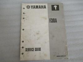 PM136 Yamaha Marine F30A OEM Service Manual P/N 90894-62941-32 - $10.39