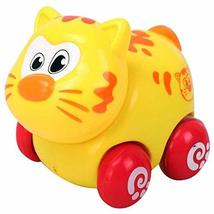 PANDA SUPERSTORE Set of 2 Cartoon Cat Car Wind-up Toy for Baby/Toddler/Kids(Mult