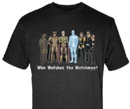 The Watchmen Movie Cast Art Rendition T-Shirt Size 2X NEW UNWORN - $17.41