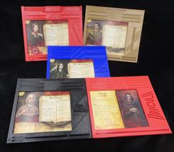 Fury of Dracula Custom 3D Printed Player Dashboards Set of 5  - $45.00