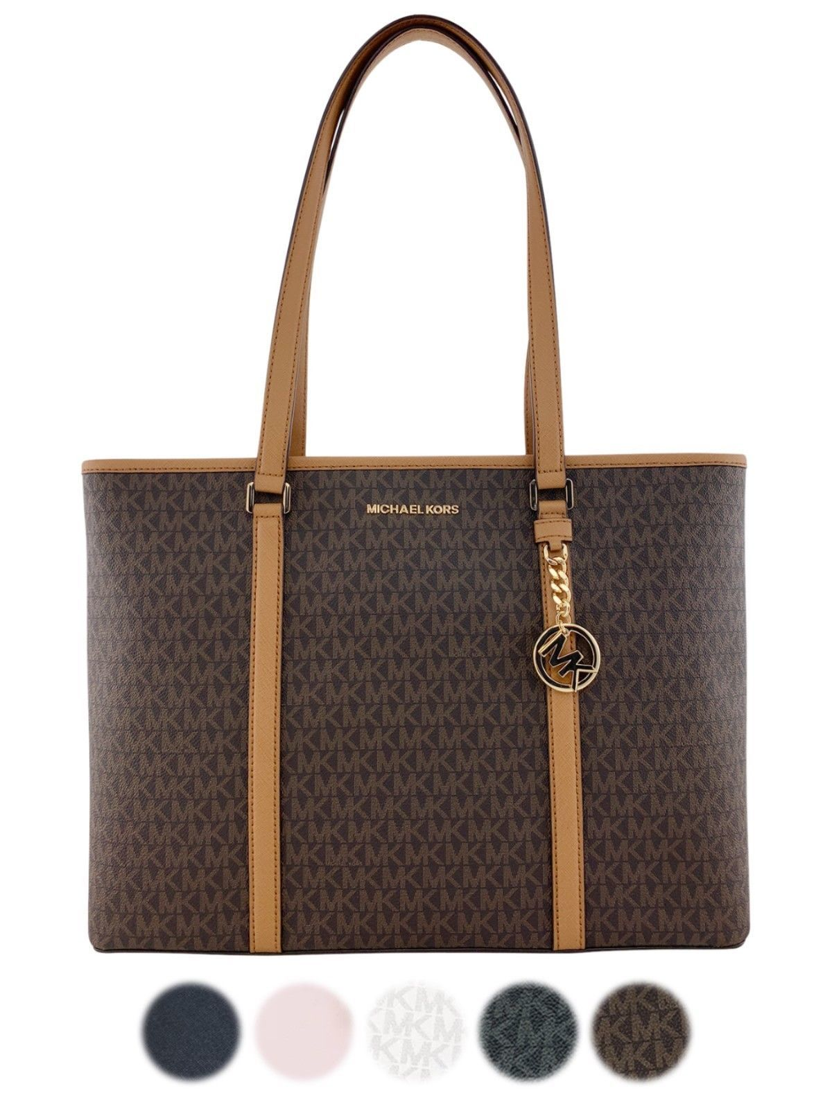 Primary image for Michael Kors Sady Large Multifunctional Top Zip Tote Laptop Bag