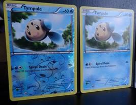 2x TYMPOLE - 31/108 Near Mint Rev HOLO B&W EX Dark Explorers Pokemon Car... - $1.99