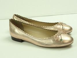 Lauren by Ralph Lauren Women's Glennie Ballet Flats Pink Metallic Size 7.5B - $24.66