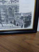 Two Ron Marsden Lithegraphs of London Westminster Abbey and Big Ben.House of Par image 4