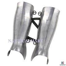 Ancient Greek Hoplite Greaves Protective Medieval 16g Functional Leg Armor - $87.22