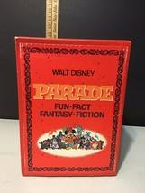 Vintage Complete 4 Volume Set of The Walt Disney Parade Books 1970 Box Set - $18.22