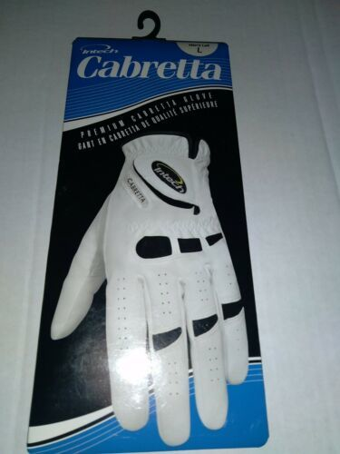 Men's Intech Cabretta Golf Glove - Left - LARGE