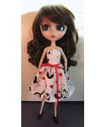 Pullip Jenny Momoko size Handmade Sweet Hearts Doll Dress - $18.97