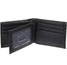 Levi's Black Bifold RFID Embossed Logo Credit Card ID Wallet for Men image 4