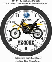 1978 YAMAHA YZ400E MOTOCROSS BIKE WALL CLOCK-FREE USA SHIP - $28.70+