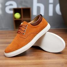 Big Shoes Leather Suede Men Size qt47CXw