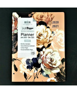 "LARGE PRINT 2020-2021 See-It-BIGGER Monthly Planner 11"" x 9"" -Pink White... - $18.52"