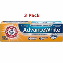 Arm & Hammer 3 Pack Hammer Advance White Toothpaste 0.9 Ounce Travel Size - $8.90