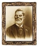 HUGE Demon Monster Gramps Pappy LENTICULAR PICTURE PORTRAIT Halloween Pr... - $39.17