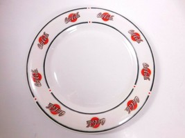 Coca Cola set of 4 stonewear plates dinner ware 2002 by Sakura - $19.77