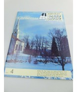 Christmas Easy-Play Speed Music #4 organs/Guitars/pianos Vintage - $9.79
