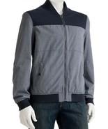 Marc Anthony Mixed Media Bomber Jacket Men L Large - $69.99