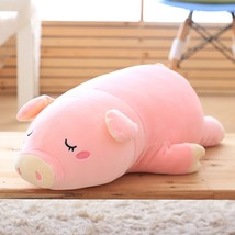 1PC Super Cute Sleeping Pig Plush Toy Stuffed Soft Animal Toy Doll for K... - $26.70