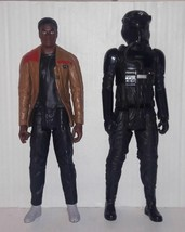 Star Wars Lot of 2 Action Figure FINN & FIRST ORDER TIE FIGHTER PILOT 11... - $10.88