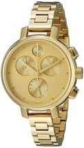 Movado Women's 3600239 Bold Chronograph Gold-Tone Stainless Steel Watch - $670.47