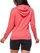 Women's Soft Lightweight Pull Over Sweatshirt Casual Drawstring Hoodie Sweater image 4