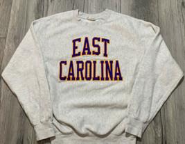 Vintage Pro Weave Eastern Carolina Crewneck Sweater Men's Small 1990s 90s - $19.99